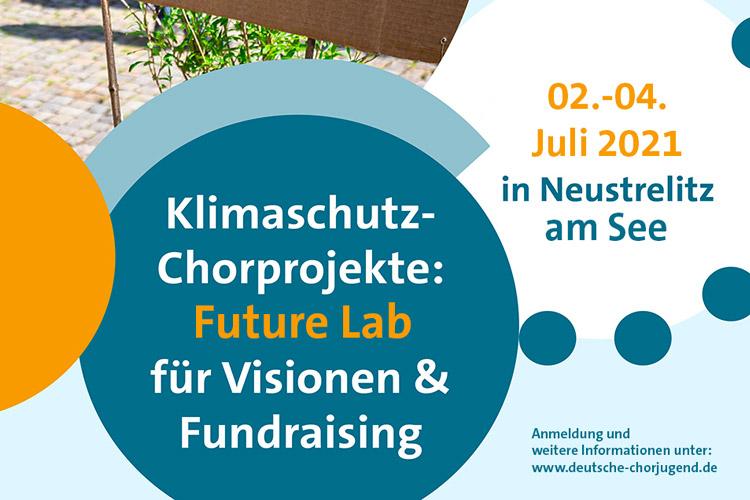 Plakat Klimaschutz-Chorprojekt