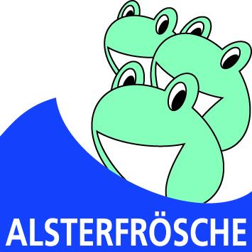 Alsterfrösche Logo