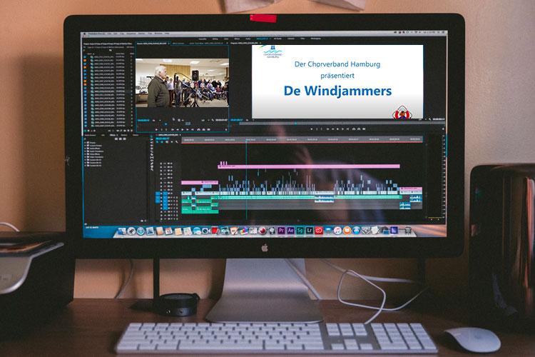 Videobearbeitung auf dem Rechner