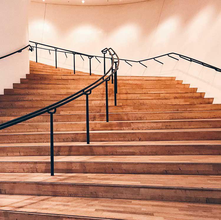 Treppen in der Elbphilharmonie