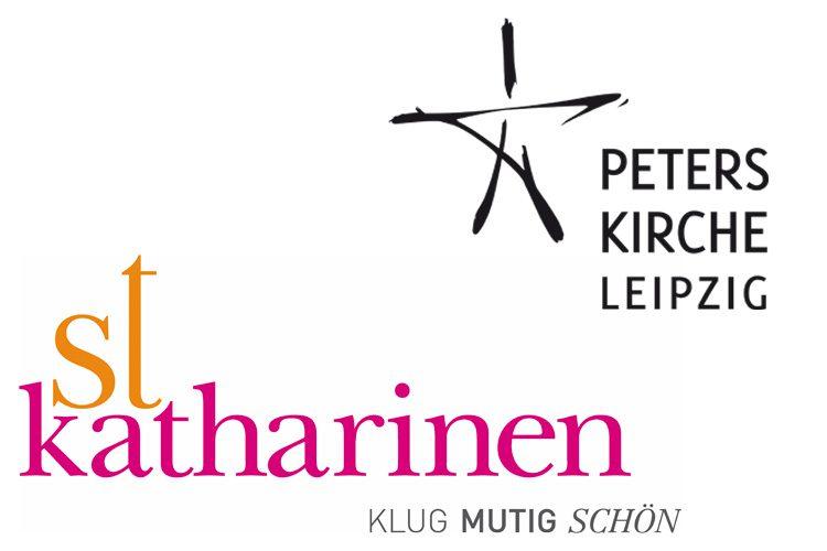 Logos St. Katharinen Peterskirche Leipzig